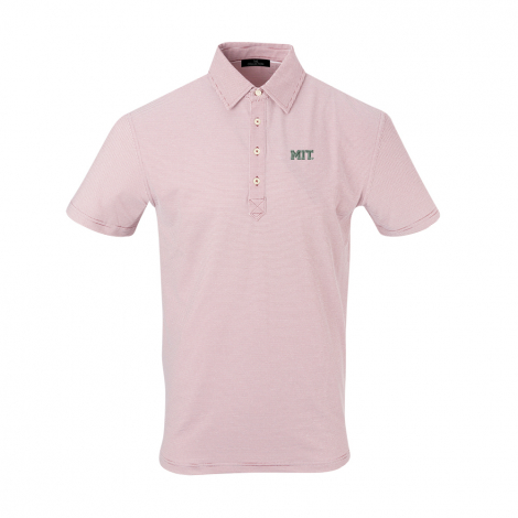 MIT Men's Champions Stripe Polo