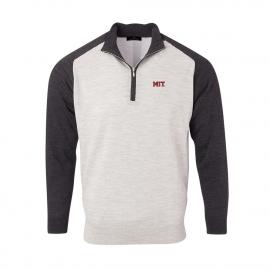 MIT Men's Merino Raglan 1/4 Zip Pullover