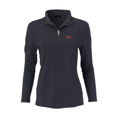 MIT Women's Ecotec 1/4 Zip Performance Pullover