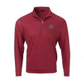 Harvard Men's Ecotec Dual Dot 1/4 Performance Long Sleeve