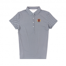 Harvard Women's Ecotec Gingham Polo