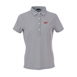 MIT Women's Ecotec Gingham Polo