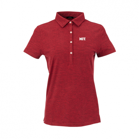 MIT Women's Peached Short Sleeve Polo