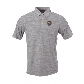 Harvard Men's Peached Short Sleeve Polo