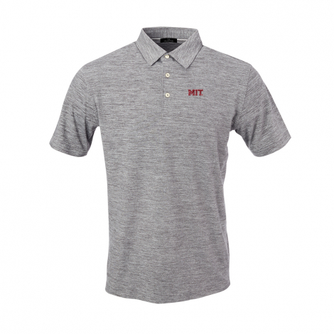 MIT Men's Peached Short Sleeve Polo