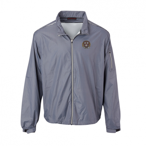 Harvard Men's Tec Wind-Wear Full Zip Herringbone