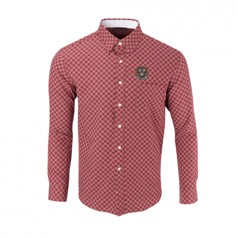 Harvard Men's Diagonal Sport Shirt