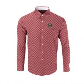 Harvard Men's Ecotec Diagonal Sport Shirt
