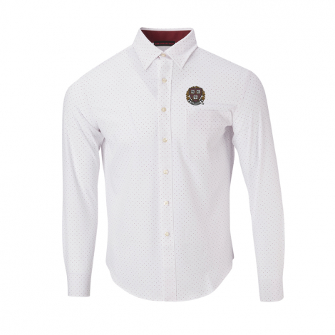 Harvard Men's Ecotec Dot Sport Shirt