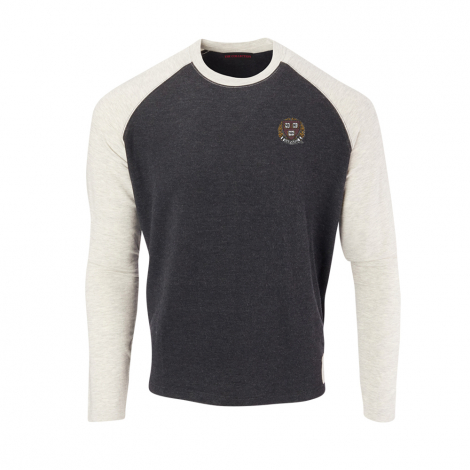 Harvard Men's Cashtec Raglan Sweater
