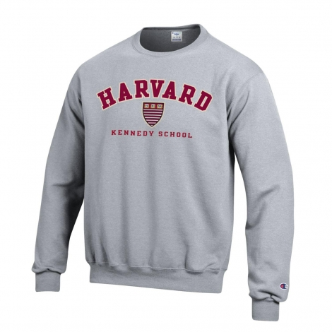 Harvard Kennedy School of Government Applique Crewneck Sweatshirt