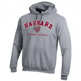 Harvard Kennedy School of Government Applique Hooded Sweatshirt