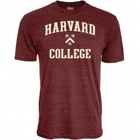 Harvard College Maroon Tee Shirt