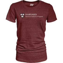 Harvard Business Analytics Program Women's Tri-Blend Tee Shirt