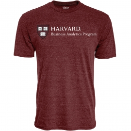 Harvard Business Analytics Program Men's Tri-Blend Tee Shirt