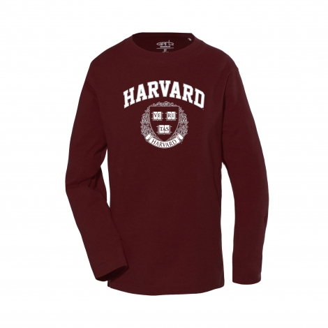 Harvard Toddler Long Sleeve Tee