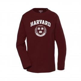 Harvard Toddler Long Sleeve Tee Shirt