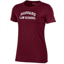 Harvard Law School Women's Champion Tee Shirt