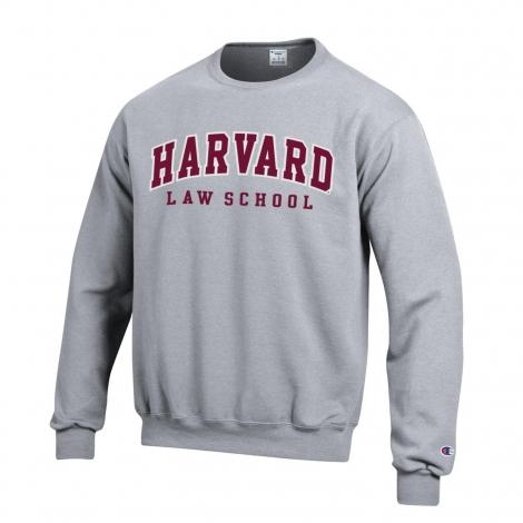 a0dddb93f Harvard Law School Applique Crewneck Sweatshirt