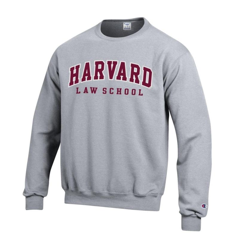 9d69bad3e202 Home   HARVARD   Graduate Schools   Harvard Law School   Harvard Law School  Applique Crewneck Sweatshirt
