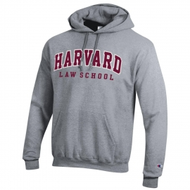 Harvard Law School Applique Hooded Sweatshirt