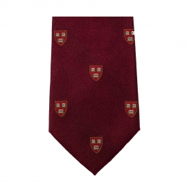 Harvard Shield Silk Tie