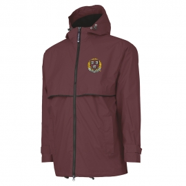Harvard New Englander Maroon Rain Jacket