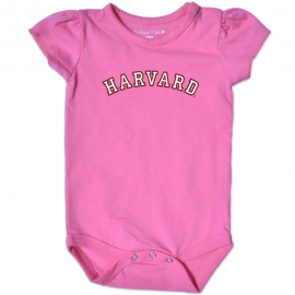 Harvard Pink Infant Bodysuit