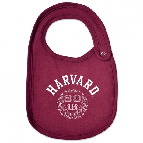 Harvard Maroon Infant Bib