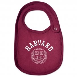 Harvard Maroon Infant Bib