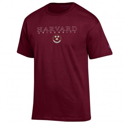 Harvard Maroon Seal Tee Shirt
