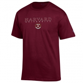 Harvard Maroon Seal Tee Shirt