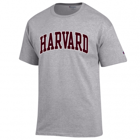Harvard Champion Classic Arched Logo Tee Shirt