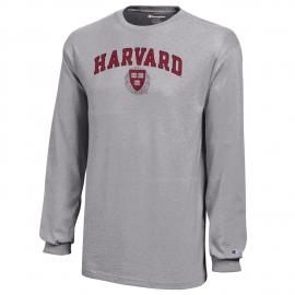 Long Sleeve Harvard Seal Tee Shirt