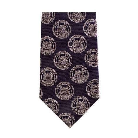 MIT Seal 100% Silk Tie