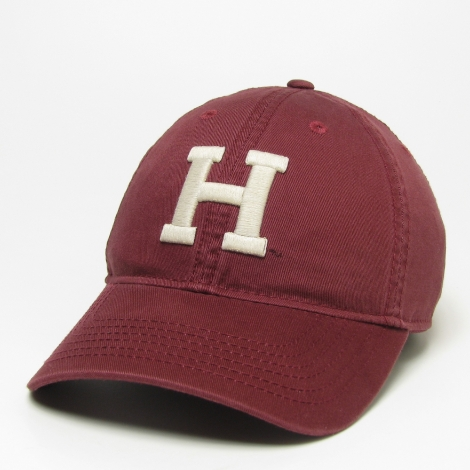 Harvard Varsity Letter washed twill hat