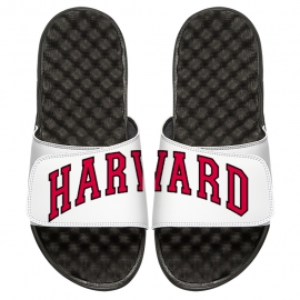 ISlide White Split Harvard Sandals