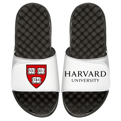 ISlide  White Veritas-Harvard Sandals