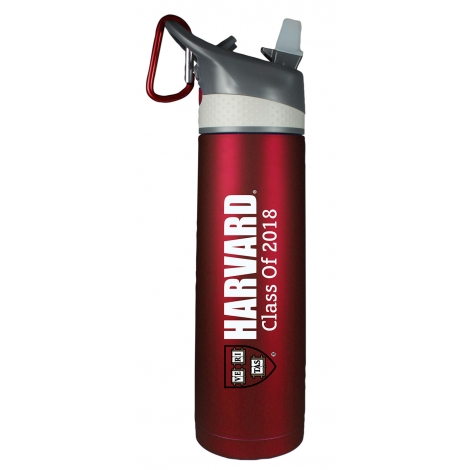 Harvard Class of 2018 Stainless Steel Water Bottle
