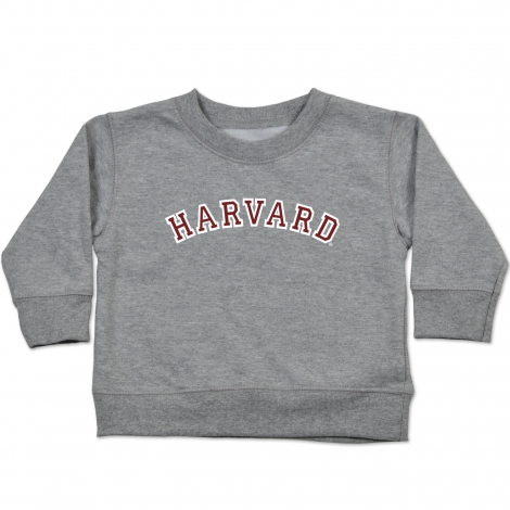 Harvard Infant Grey Crew Sweatshirt