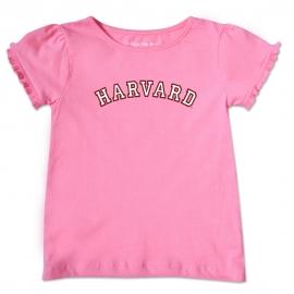 Harvard Pink Toddler T Shirt