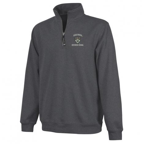 Harvard Business School 1/4 Zip Crosswind Sweatshirt