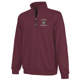 Harvard Business School 1/4 Zip Crosswind Sweatshirt