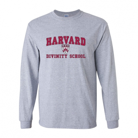 Harvard Grey Divinity School Long Sleeve T Shirt
