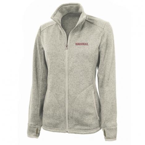 Harvard Women's Charles River Sweater Fleece Full Zip Jacket