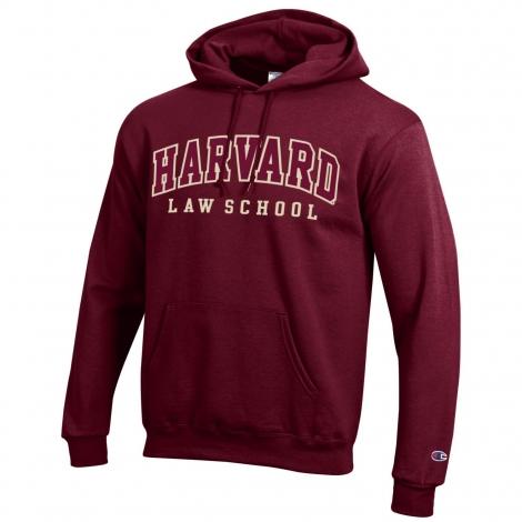 Harvard Law School Applique Hooded Sweatshirt