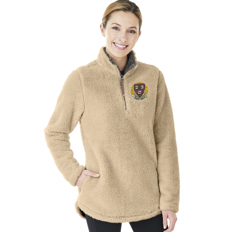 Women's Harvard Newport 1/4 Zip Fleece