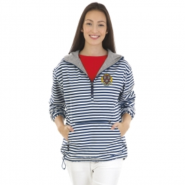 Women's Harvard Striped Chatham Anorak