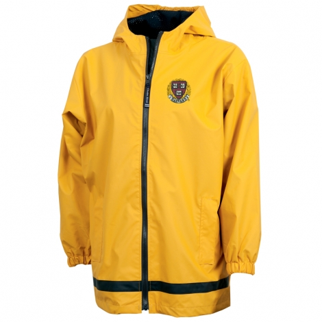 Harvard Youth Yellow New Englander Rain Jacket