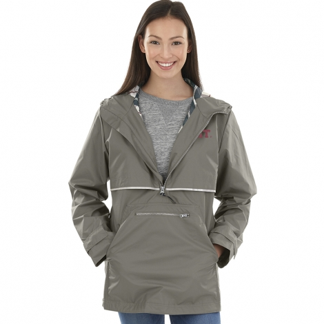 Women's MIT Grey New Englander Pullover